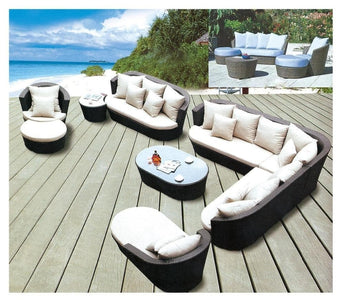 Exclusive Combo of Rattan Sofa Outdoor Furniture Set - My Aashis