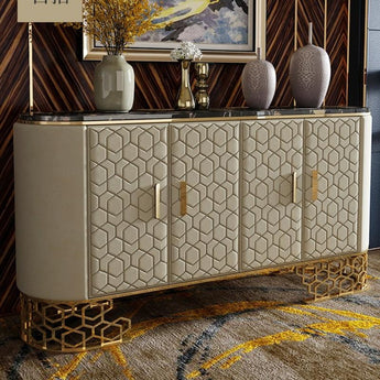 Post-Modern Light Luxurious Sideboard Cabinet - My Aashis