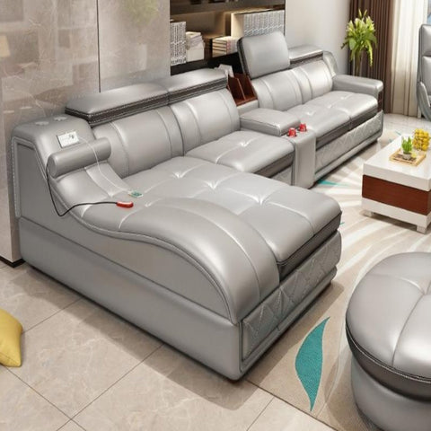 Stylish Corner Sofa Set For Living Room - My Aashis