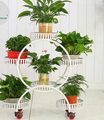 Modern Plant Shelves Pot Rack For Decor