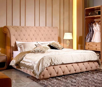 Luxury Tufting Design Soft Bed For Home  Furniture - My Aashis