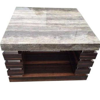 Luxury Marble Shine Sustainable Coffee Table and Side Table - My Aashis