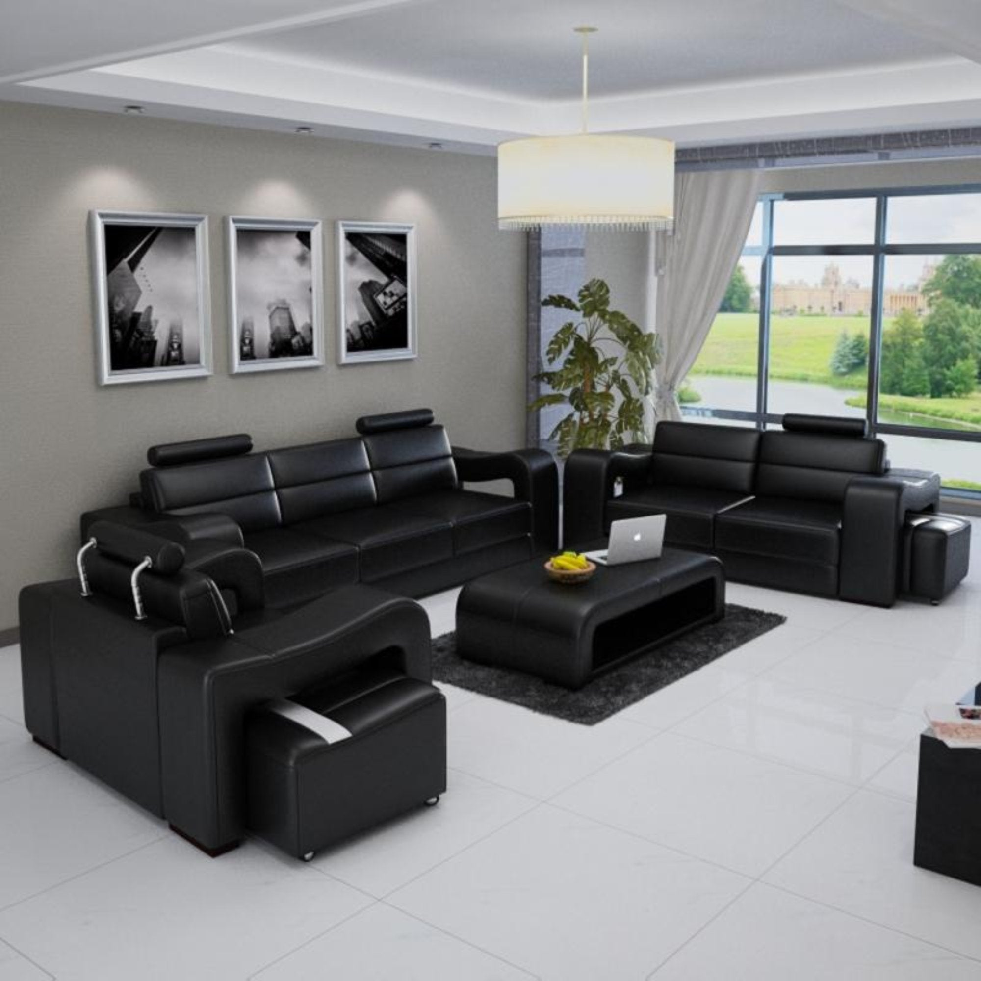 Modern Design ERICA 3+2+1 sofa set