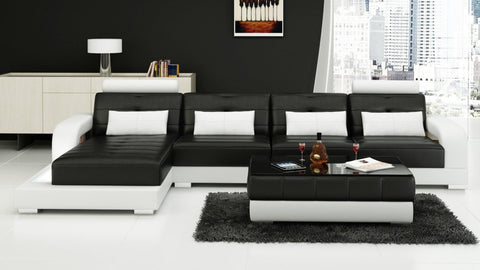 Luxury Modern Living room sofa with two contrasting Colours - My Aashis