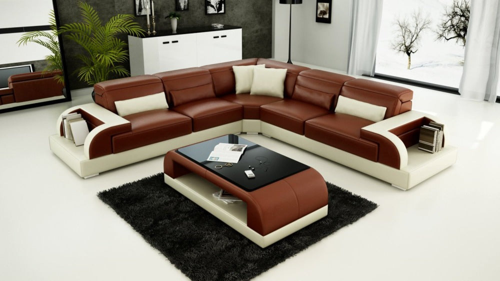 Modern Luxury Furniture Corner Sectional Sofa