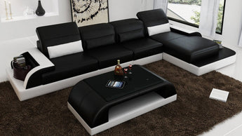 Luxury Modern Sofa With Olivia Peninsula