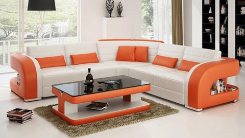 Luxury Florence L Shape Modern Sectional Sofa - My Aashis
