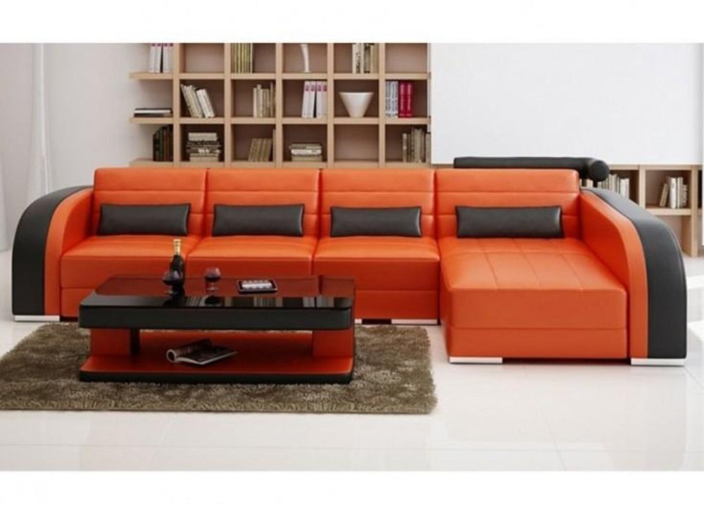 Luxury Modern Umbra - 3sC - Leather Sofa Lounge Set – My Aashis