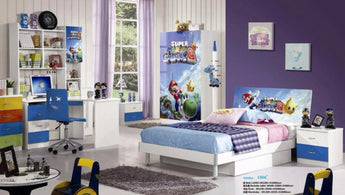 Kids Room Furniture Set Contemporary Design - SuperMario Theme - My Aashis