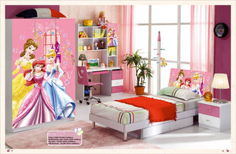 Kids Room Furniture Set Contemporary Design - Disney Fairy Theme - My Aashis