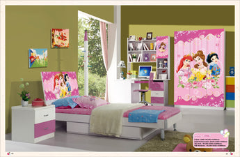 Kids Room Furniture Set Contemporary Design - Princess Theme