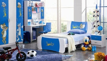 Kids Room Furniture Set Contemporary Design - Mickey & Mouse Theme - My Aashis