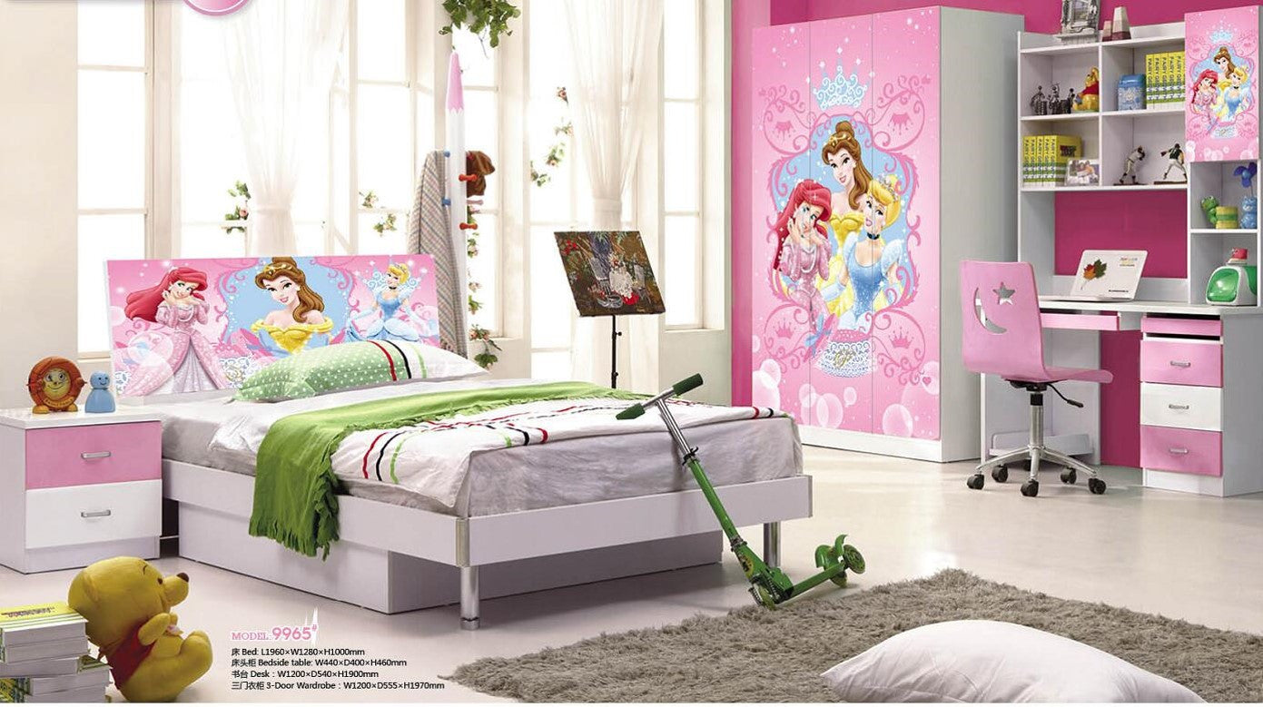 Pink Theme My Aashis Kids Room Furniture Set Contemporary ...