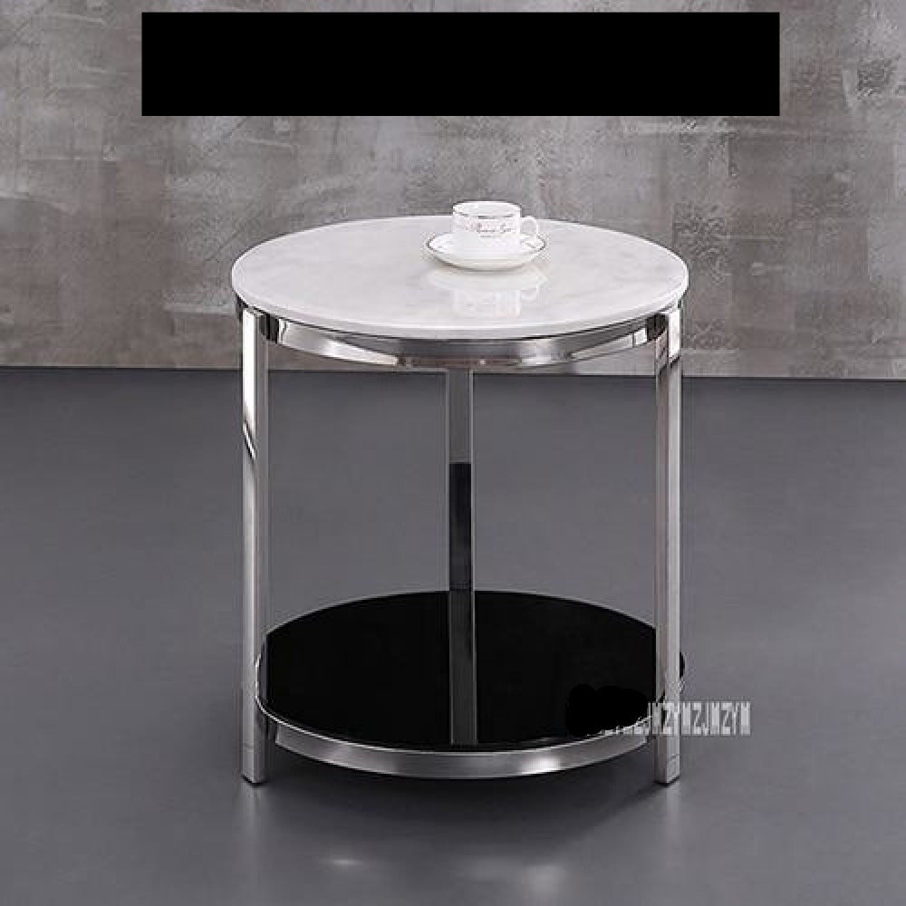 Modern Luxury Marble Top Tea Table Simple Living Room ...