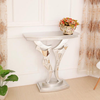 Stylish Light Luxury Modern Console Table- My Aashis