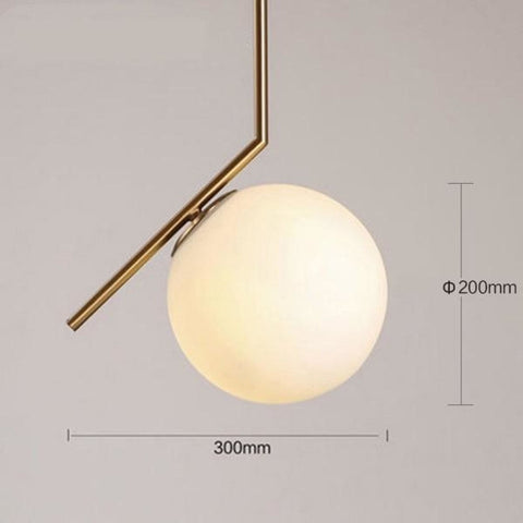 Hanging Ball Pendant Lamp Lights - My Aashis
