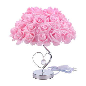 Modern Creative Rose Flower Table Lamp For living Room - My Aashis