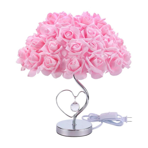 Modern Creative Rose Flower Table Lamp For living Room