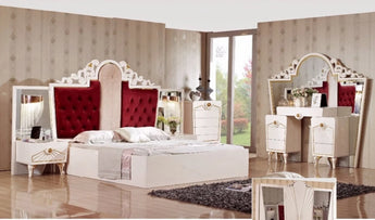 Royal Full Set Bedroom  Furniture For Home Decor - My Aashis
