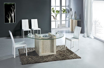Creative Stone  Round Dining Table