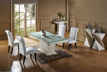 Stone Build Solid & Classy Dining Table
