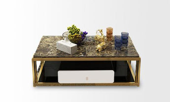 Minimalist Modern Mix Color Coffee Table - My Aashis