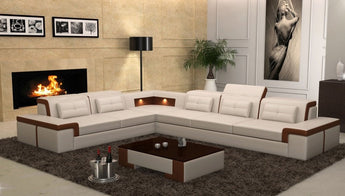 Latest L- Shaped Luxury Sectional Sofa