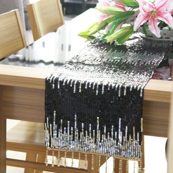 Bright Sequin Tip Top Table Runner