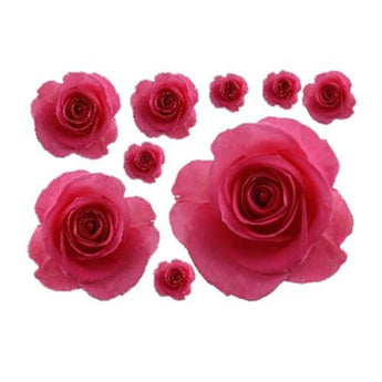 3D Pretty Rose Wall Stickers For Wall Decor - My Aashis