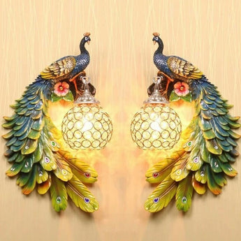 Antique Crystal Retro Wall Light - My Aashis