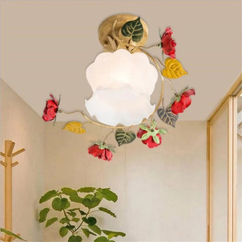 New Flower Ceiling Light Fixtures For Living Room - My Aashis