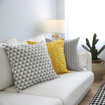 Printed Pattern Soft Cushion Cover For Decor