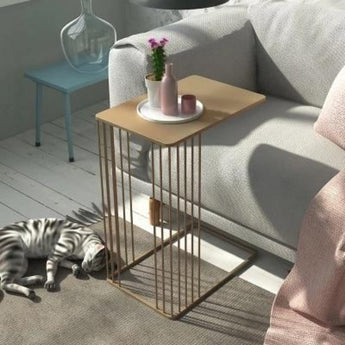 Nordic Emily End Iron Metal Side Table - My Aashis
