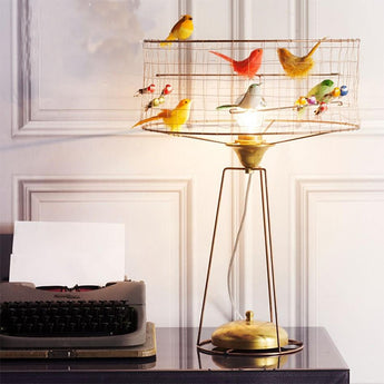 Creative Birds Case Style Table Lamp - My Aashis