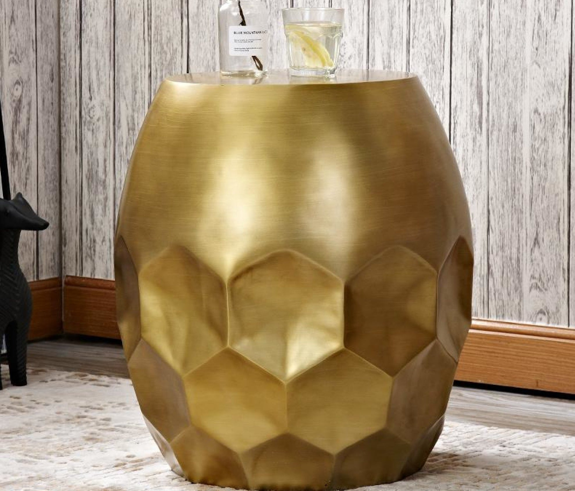 - Drums Fashion Tip Top Modern Side Table My Aashis