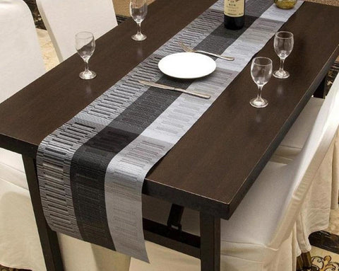 HQ PVC Crafted  Durable Table Runner For Dining Decor