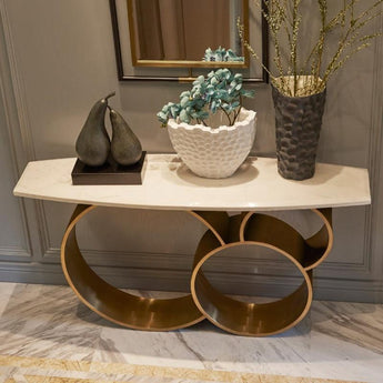 Light Luxurious Post-Modern Console Table - My Aashis