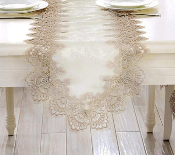 Crystal Light  Floral Rectangular Tablecloth
