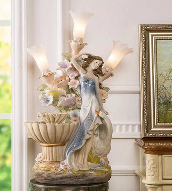 Breakless Angel Water Fountain For Decor & Gifts