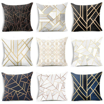 Newly Printed Square Throw Pillow Cover