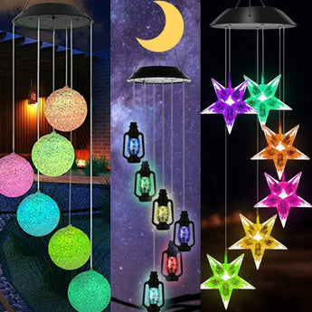 Coloured LED Winchime Light for Outdoor Party - My Aashis