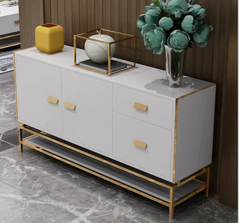 Modern Metal Side Cabinet - My Aashis