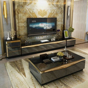 Luxury Media Center &  Coffee Table Furniture - My Aashis