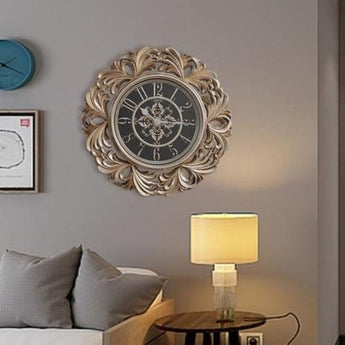 Large & Big Stylish Round Wall Clock - My Aashis