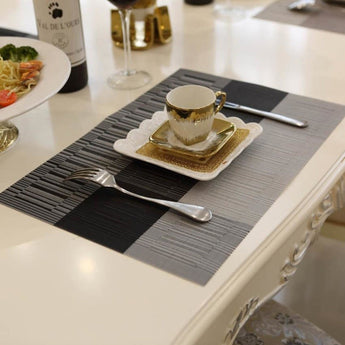 4Pcs Durable  Dining Decor Placemats