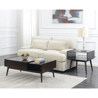Espresso Wood Lift Top Coffee Table - My Aashis