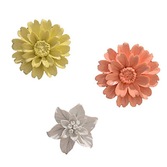 Ceramic Flower  Wall Decoration Pendant
