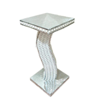 Large silver mosaic vase side table centerpieces - My Aashis