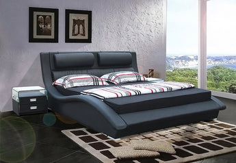 Luxury Leather Soft  Bed Furniture - My Aashis
