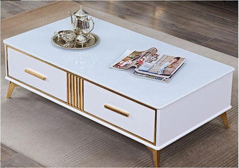 Light Luxury Rich Look Coffee Table - My Aashis